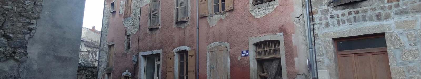 Etude revitalisation centre bourg de Craponne-sur-Arzon