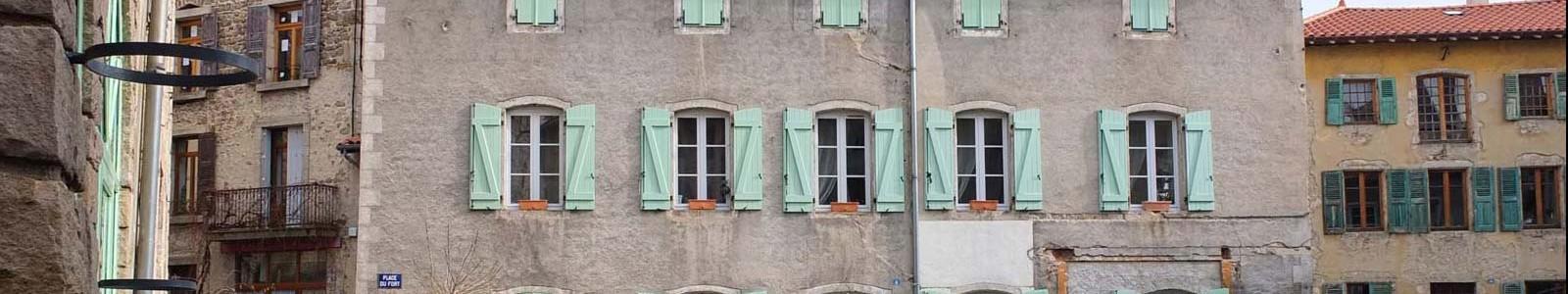 Vivre au centre bourg de Craponne sur Arzon