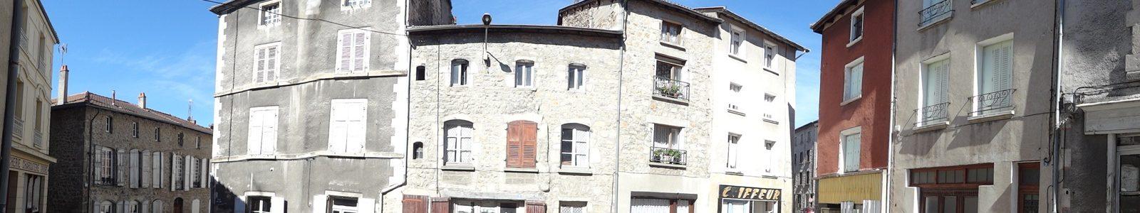 Centre bourg de Craponne-sur-Arzon - Vue panoramique
